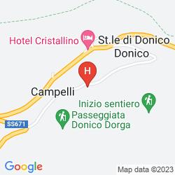 Karte DES ALPES