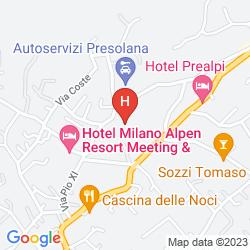 Karte PREALPI