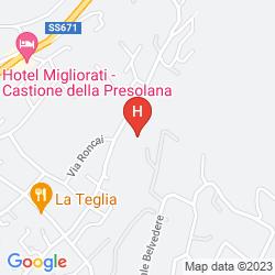Karte RESIDENCE LA ROSA