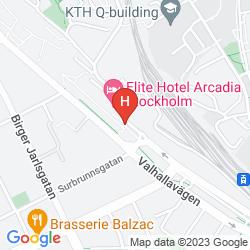 Karte ELITE HOTEL ARCADIA