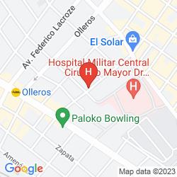 Karte CASERÓN PORTEÑO