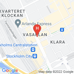Karte RADISSON BLU ROYAL VIKING