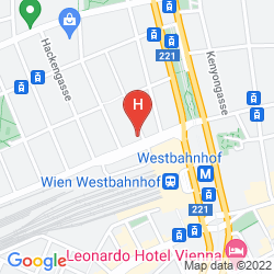 Karte ARTHOTEL ANA WESTBAHN