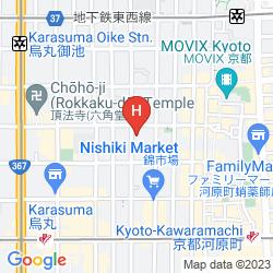 Karte MATSUI HONKAN RYOKAN