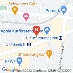 Karte BRISTOL BERLIN
