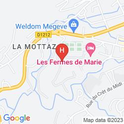 Karte LES FERMES DE MARIE