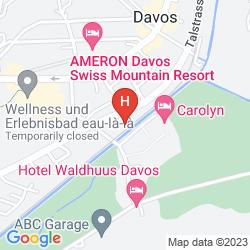 Karte HOTEL CRESTA