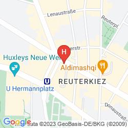 Karte GRAND HOSTEL BERLIN URBAN