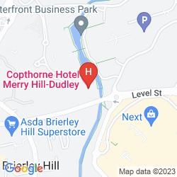Karte COPTHORNE HOTEL MERRY HILL DUDLEY