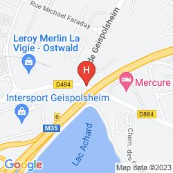 Karte MERCURE SUD