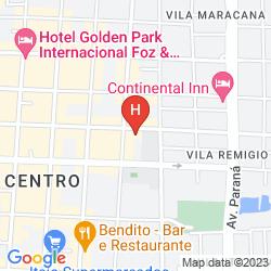 Karte GOLDEN PARK INTERNACIONAL FOZ