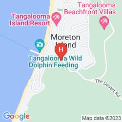 Karte TANGALOOMA ISLAND RESORT
