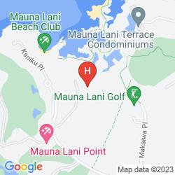 Karte MAUNA LANI POINT