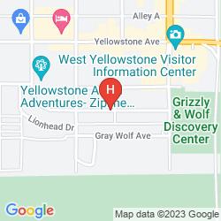 Karte YELLOWSTONE PARK