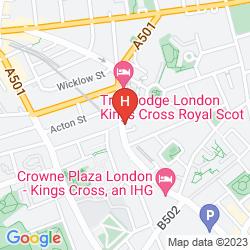 Karte CLINK 78 HOSTEL