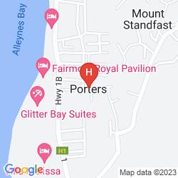 Karte THE FAIRMONT ROYAL PAVILION BARBADOS RESORT