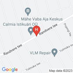 Karte ECOLAND HOTEL BOUTIQUE