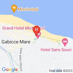 Karte GRAND HOTEL MICHELACCI