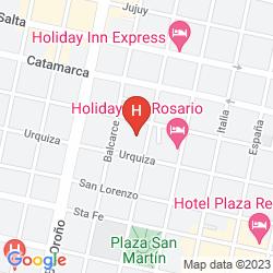 Karte HOLIDAY INN EXPRESS ROSARIO