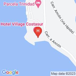 Karte CLUB AMIGO ANCÓN