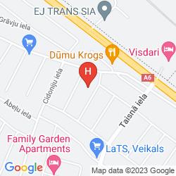 Karte VISDARI