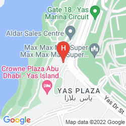 Karte PARK INN BY RADISSON ABU DHABI YAS ISLAND