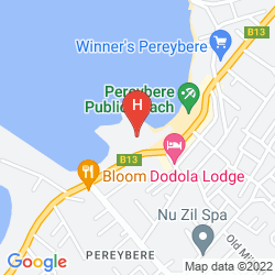 Karte HIBISCUS BEACH RESORT & SPA & DIVE CLUB