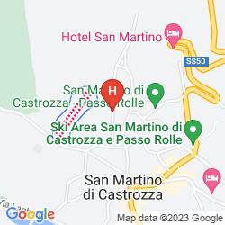 Karte GRAND HOTEL DES ALPES
