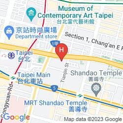 Karte SHERATON GRAND TAIPEI