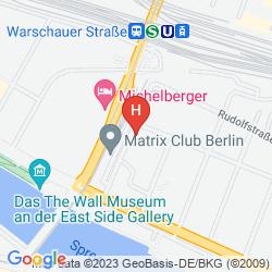 Karte PLUS BERLIN