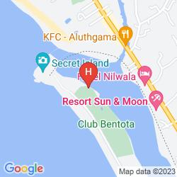 Karte EDEN RESORT & SPA