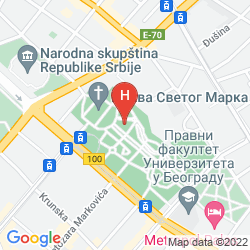 Karte ZELEZNICAR KONAK HOTEL