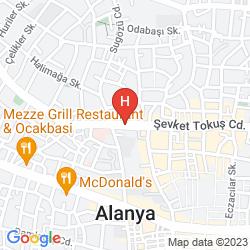 Karte DRITA HOTEL