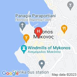 Karte PENSION FLORA