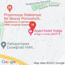 Karte VOLGA APART-HOTEL MOSCOW