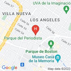 Karte PLAZUELA SAN IGNACIO