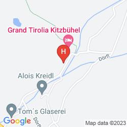 Karte GRAND TIROLIA HOTEL KITZBUHEL, CURIO COLLECTION BY HILTON