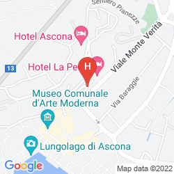 Karte HOTEL LA PERLA