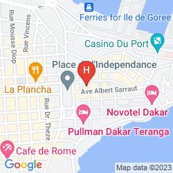 Karte CROIX DU SUD
