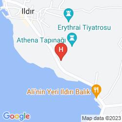 Karte ERYTHRAI NOBLE HOTEL