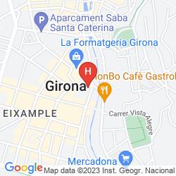 Karte PENSIÓ MARGARIT