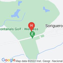 Karte FONTANALS GOLF