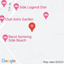 Karte ARINNA HOTEL