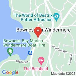 Karte MACDONALD OLD ENGLAND HOTEL & SPA