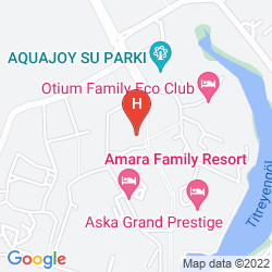 Karte VENUS HOTEL