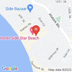 Karte SUN CLUB SIDE