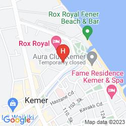 Karte CRYSTAL DE LUXE  RESORT & SPA HOTEL