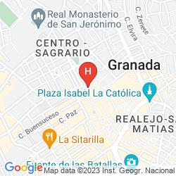 Karte LA CASA DE LA TRINIDAD