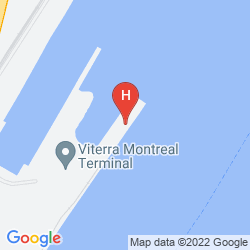 Karte SANDMAN HOTEL MONTREAL - LONGUEUIL