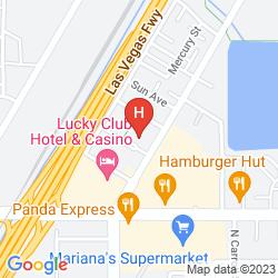 Karte LUCKY CLUB CASINO & HOTEL